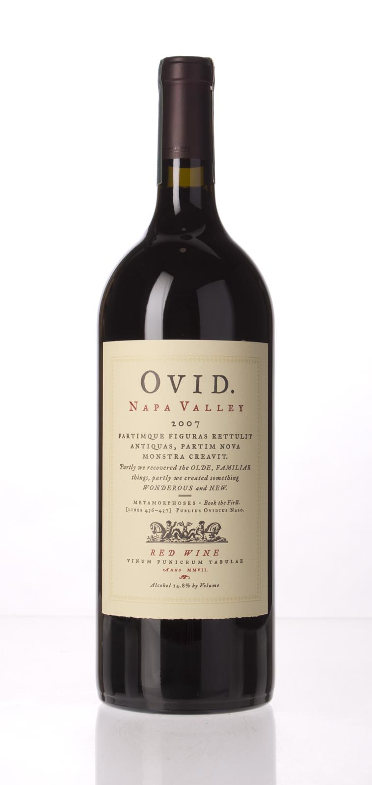 Ovid Winery Proprietary Red Napa Valley 2007, 1.5L (WA95, ST95) from The BPW - Merchants of rare and fine wines.