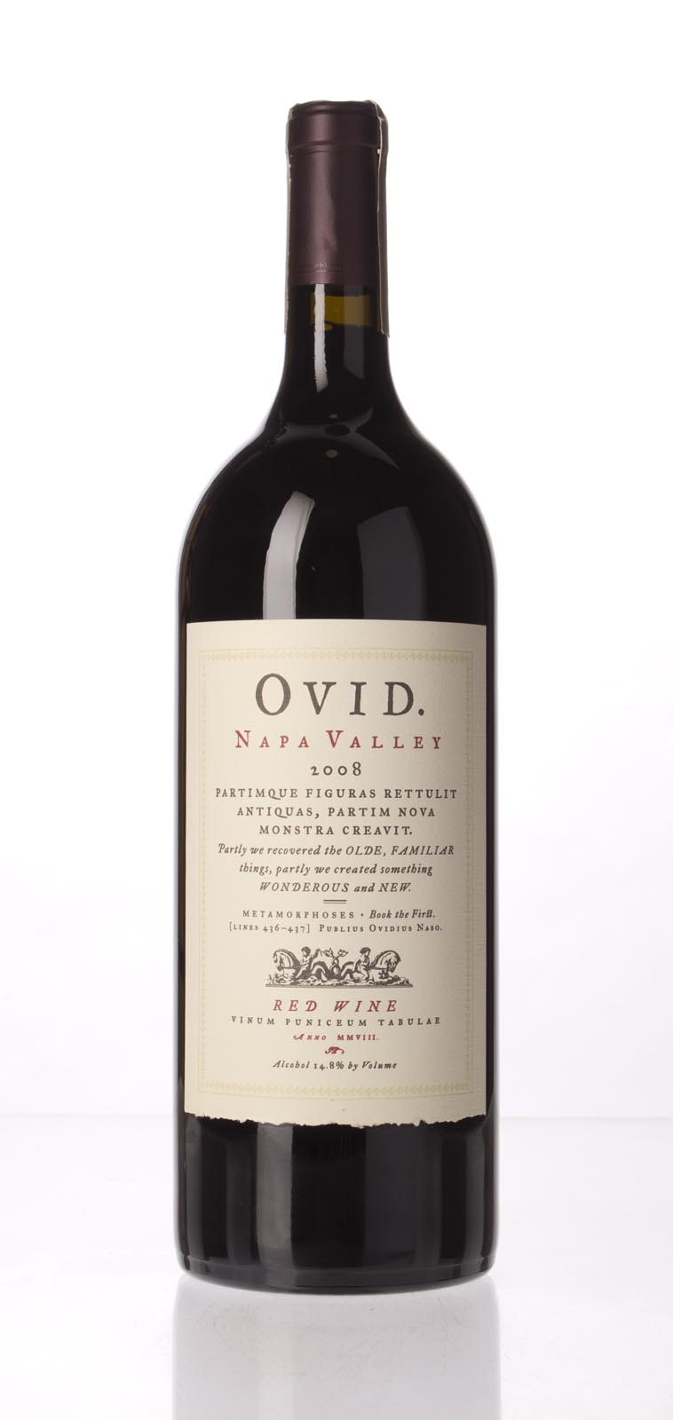 Ovid Winery Proprietary Red Napa Valley 2008, 1.5L (WA93, ST93, WS93) from The BPW - Merchants of rare and fine wines.