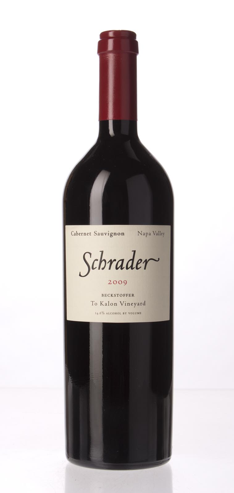 Schrader Cellars Cabernet Sauvignon Beckstoffer To Kalon Vineyard 2009, 750mL (WA95, WS95) from The BPW - Merchants of rare and fine wines.