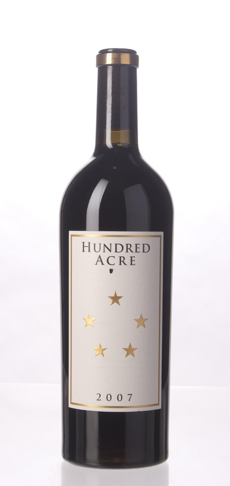 Hundred Acre Vineyard Cabernet Sauvignon Kayli Morgan Vineyard 2007, 750mL (WA100) from The BPW - Merchants of rare and fine wines.
