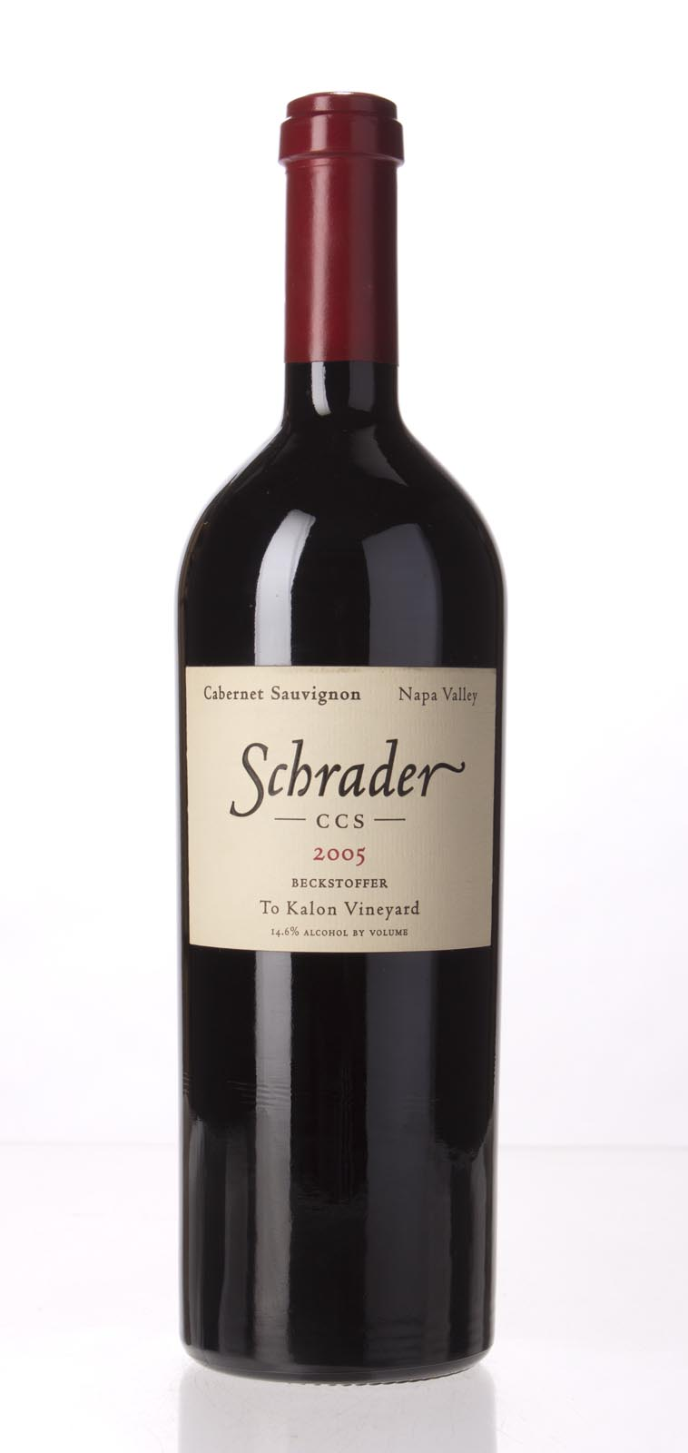 Schrader Cellars Cabernet Sauvignon Beckstoffer To Kalon Vineyard CCS 2005, 750mL (WA95, WS95) from The BPW - Merchants of rare and fine wines.