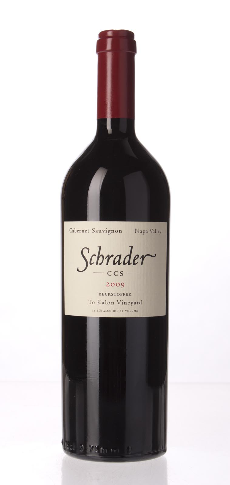 Schrader Cellars Cabernet Sauvignon Beckstoffer To Kalon Vineyard CCS 2008,  (WA100) from The BPW - Merchants of rare and fine wines.