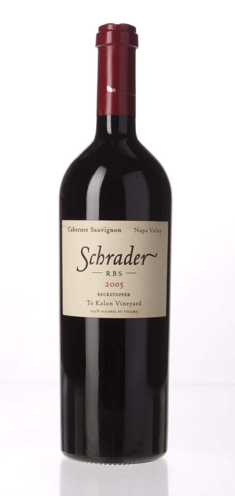 Schrader Cellars Cabernet Sauvignon Beckstoffer To Kalon Vineyard RBS 2005, 750mL (WA93, WS94) from The BPW - Merchants of rare and fine wines.