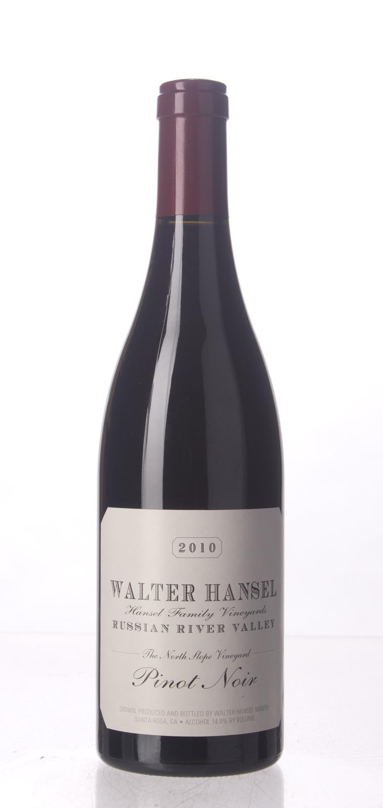 Walter Hansel Winery Pinot Noir The North Slope 2010, 750mL (AG92, WA92, ST92) from The BPW - Merchants of rare and fine wines.
