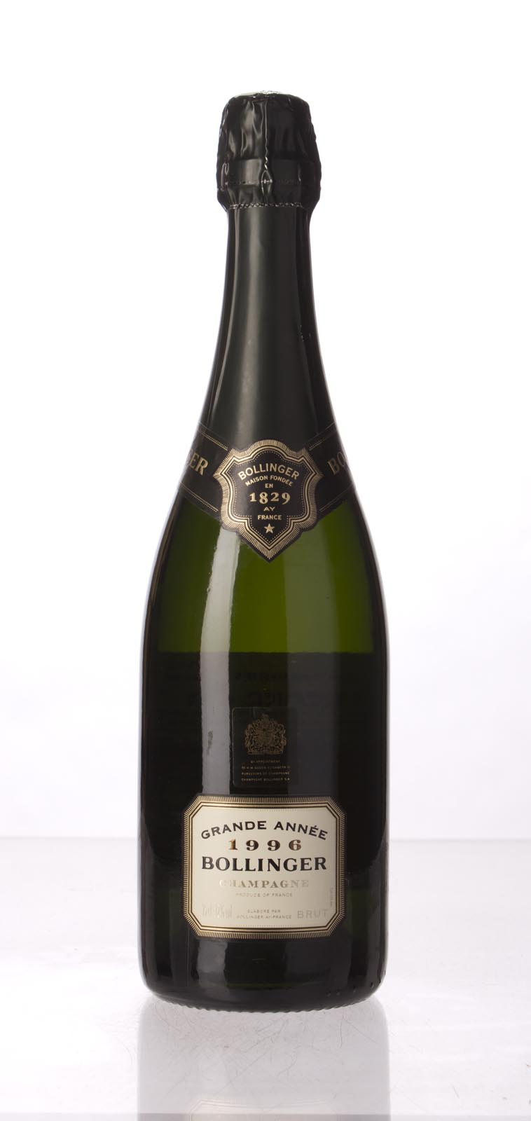 Bollinger Grande Annee 1996, 750mL (ST93+, WS95) from The BPW - Merchants of rare and fine wines.