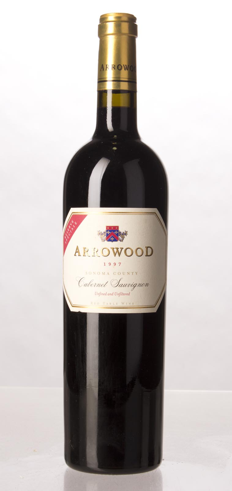Arrowood Cabernet Sauvignon Reserve Speciale 1997, 750mL (WA93, ST93) from The BPW - Merchants of rare and fine wines.