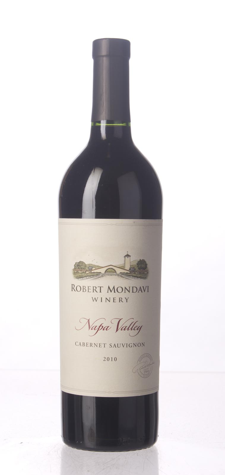 Robert Mondavi Cabernet Sauvignon Napa Valley 2010, 750mL (AG90) from The BPW - Merchants of rare and fine wines.