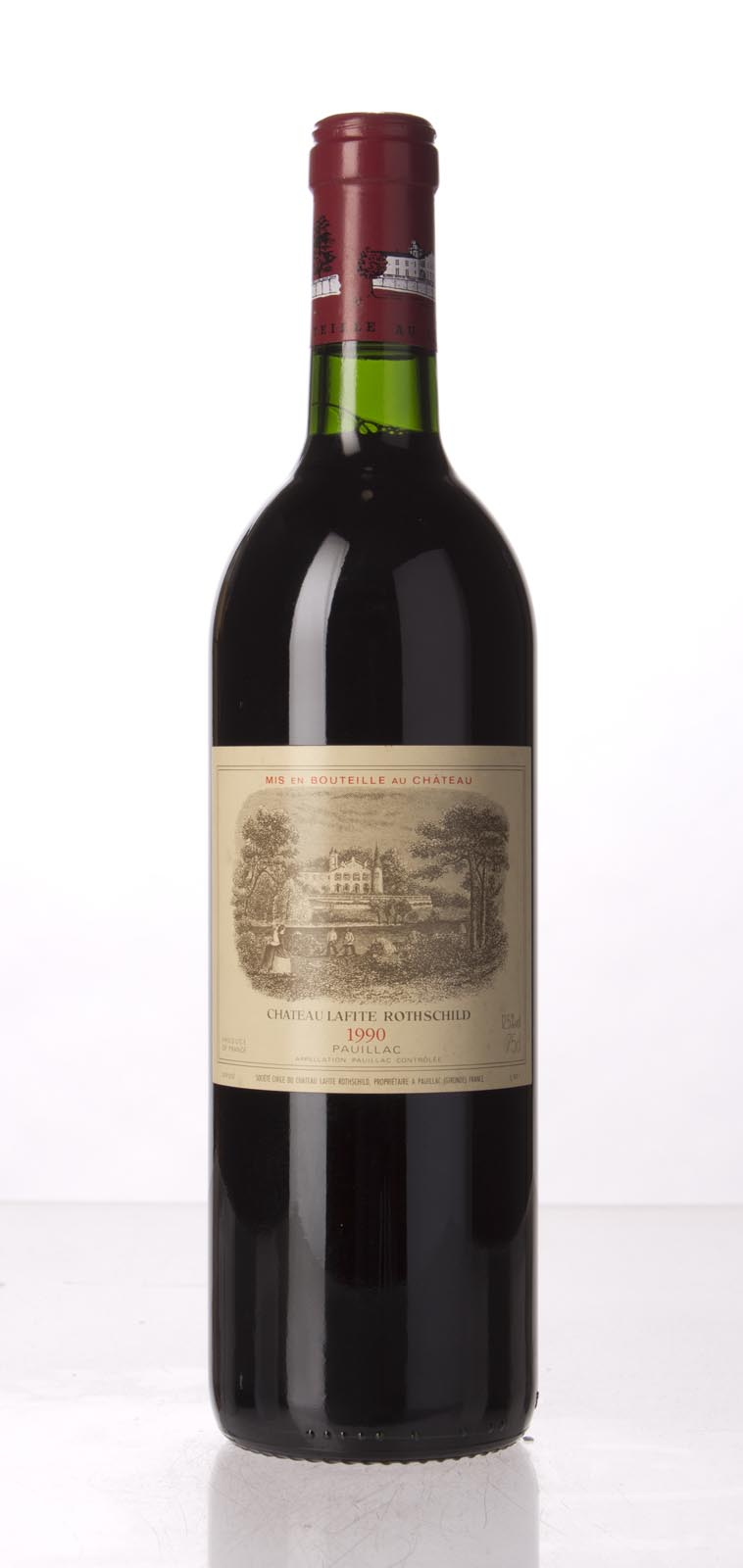 Lafite Rothschild 1990, 750mL (WA96, WS97) from The BPW - Merchants of rare and fine wines.