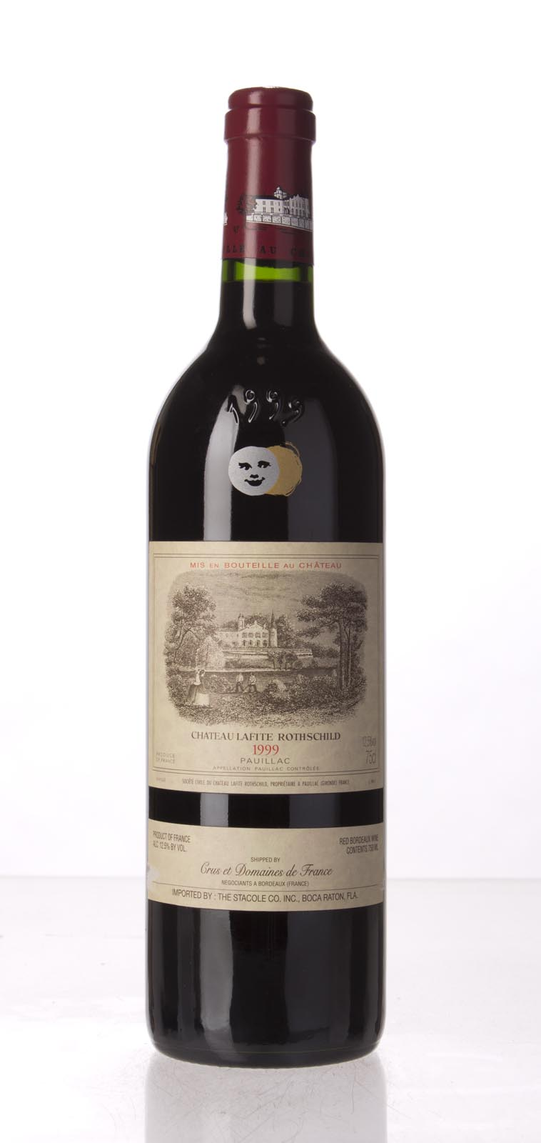 Lafite Rothschild 1999, 750mL (WA95, WS95) from The BPW - Merchants of rare and fine wines.