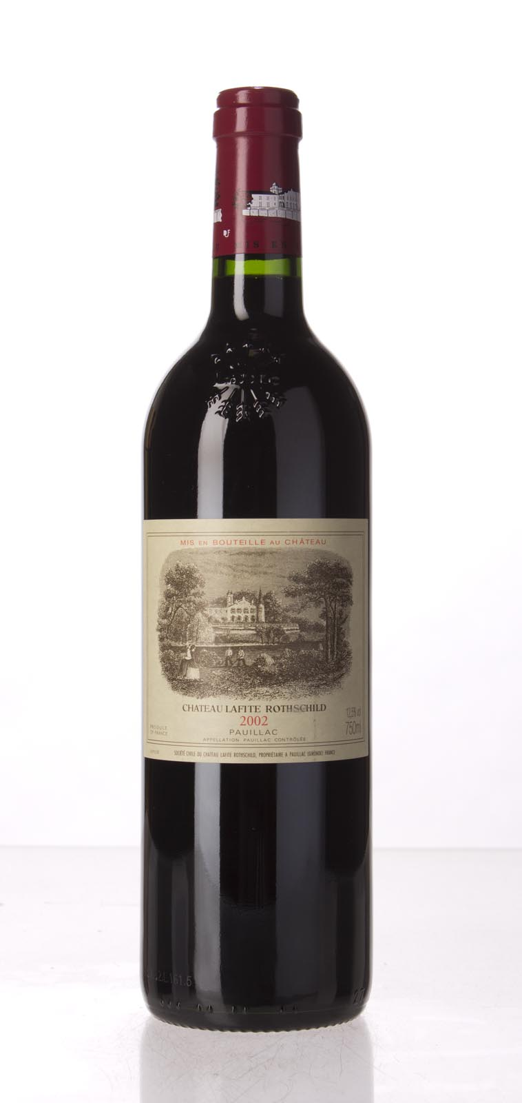 Lafite Rothschild 2002, 750mL (WA94, WS95) from The BPW - Merchants of rare and fine wines.