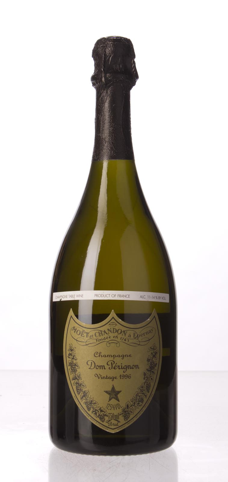 Moet Chandon Dom Perignon 1996, 750mL (BH97, WA98) from The BPW - Merchants of rare and fine wines.