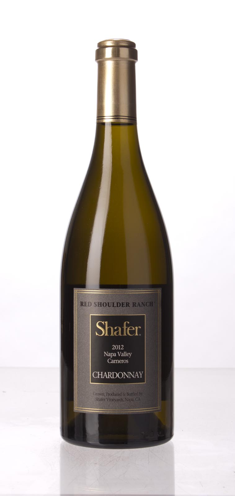 Shafer Chardonnay Red Shoulder Ranch 2012,  (WA91) from The BPW - Merchants of rare and fine wines.
