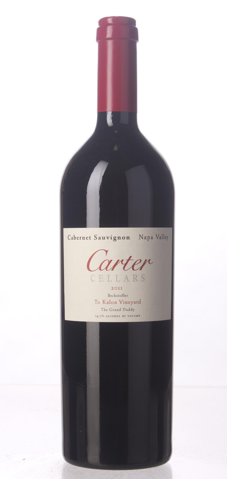 Carter Cabernet Sauvignon Beckstoffer To Kalon Vineyard The Grandaddy 2011, 750mL (ST91-92) from The BPW - Merchants of rare and fine wines.
