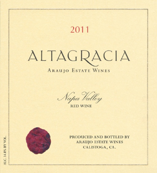 Araujo Estate Cabernet Sauvignon Altagracia 2011, 750ml (AG92) from The BPW - Merchants of rare and fine wines.