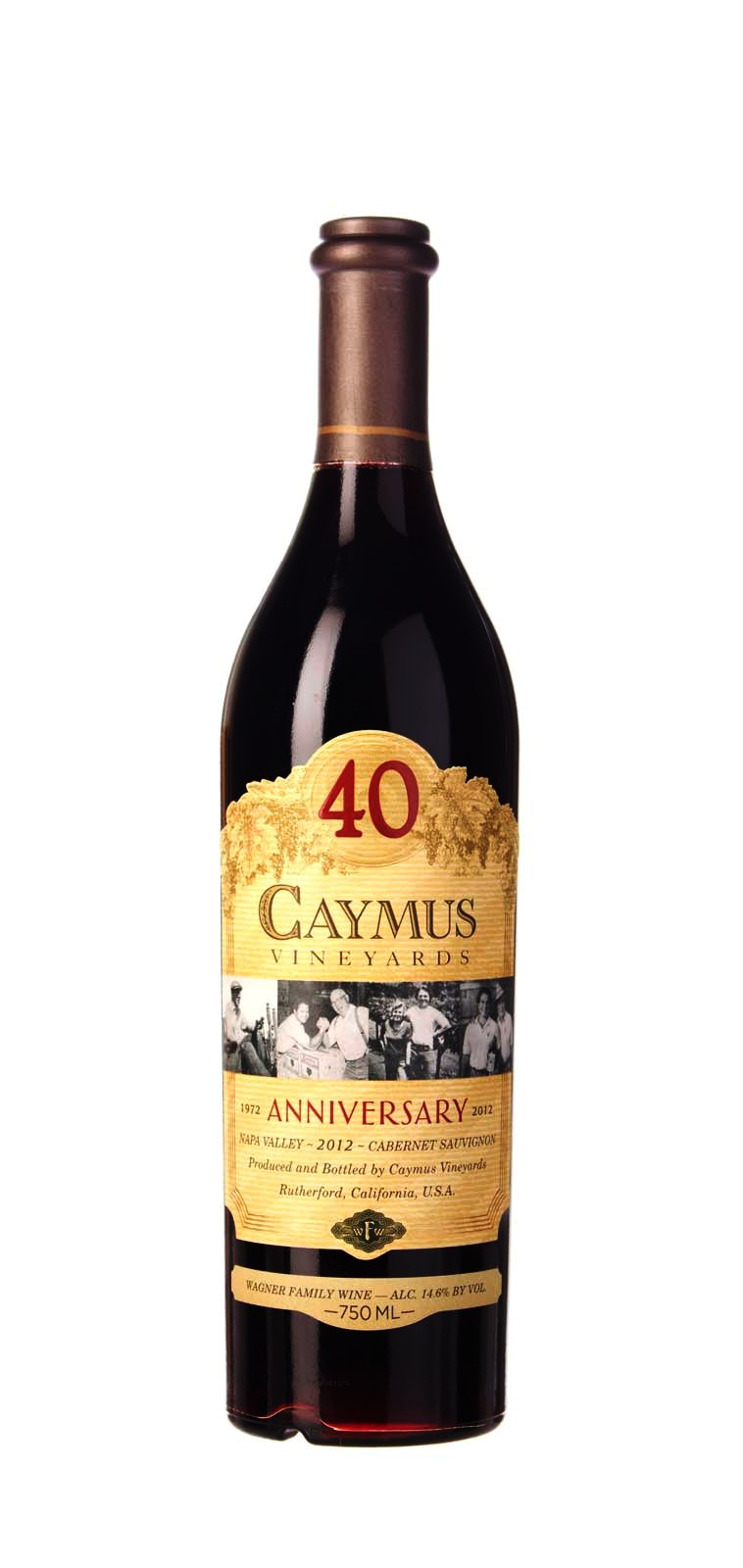 Caymus (40th Anniversary) Cabernet Sauvignon Napa Valley 2012, 750ml (WA96) from The BPW - Merchants of rare and fine wines.