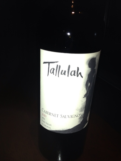 Tallulah Cabernet Sauvignon MD2 2010,  () from The BPW - Merchants of rare and fine wines.