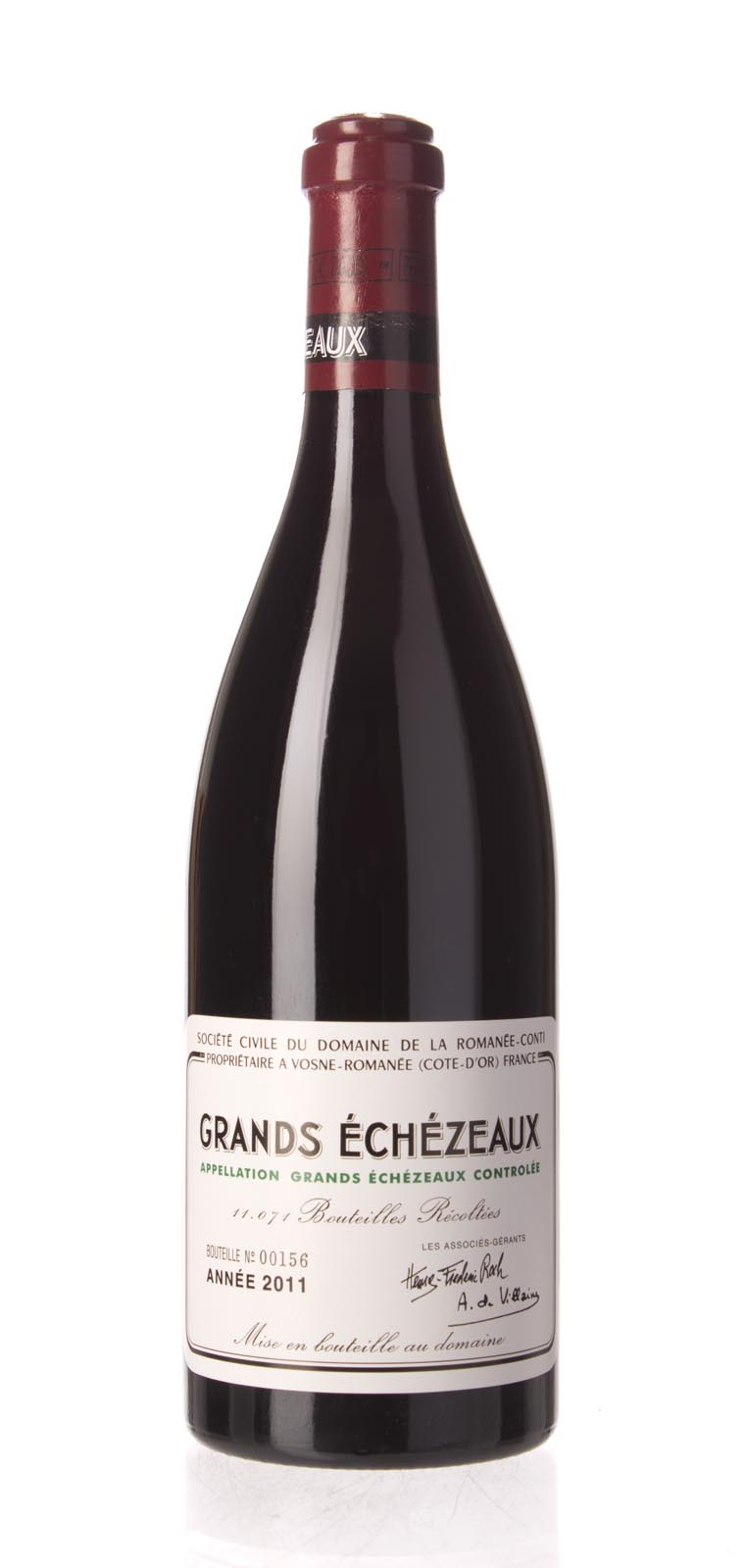 Domaine de La Romanee Conti Grands Echezeaux 2011, 750mL (BH92-95, ST92-94) from The BPW - Merchants of rare and fine wines.