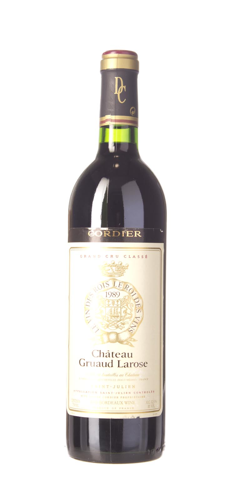 Gruaud Larose 1989, 750mL (WS93) from The BPW - Merchants of rare and fine wines.