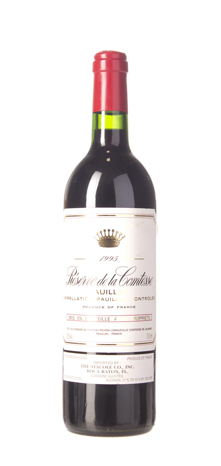 Reserve de Comtesse de Lalande 1995, 750mL () from The BPW - Merchants of rare and fine wines.