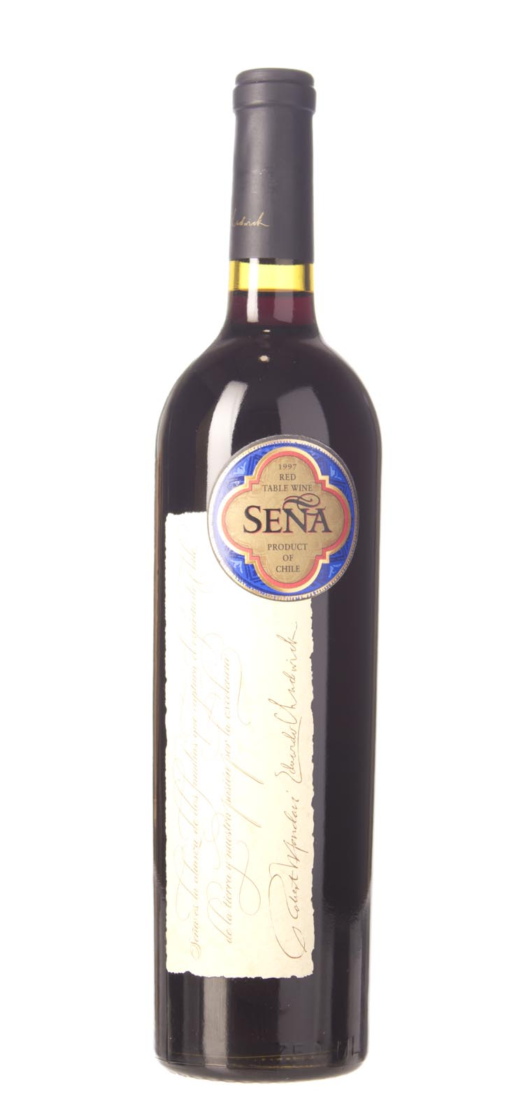 Sena Proprietary Red Aconcagua Valley 1997, 750mL (WS91) from The BPW - Merchants of rare and fine wines.