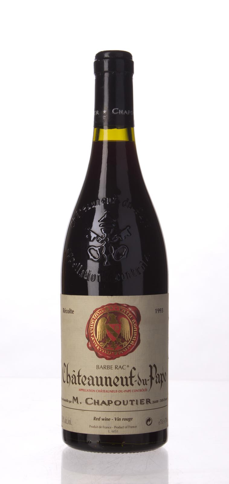 Chapoutier Chateauneuf du Pape Barbe Rac 1991, 750mL () from The BPW - Merchants of rare and fine wines.