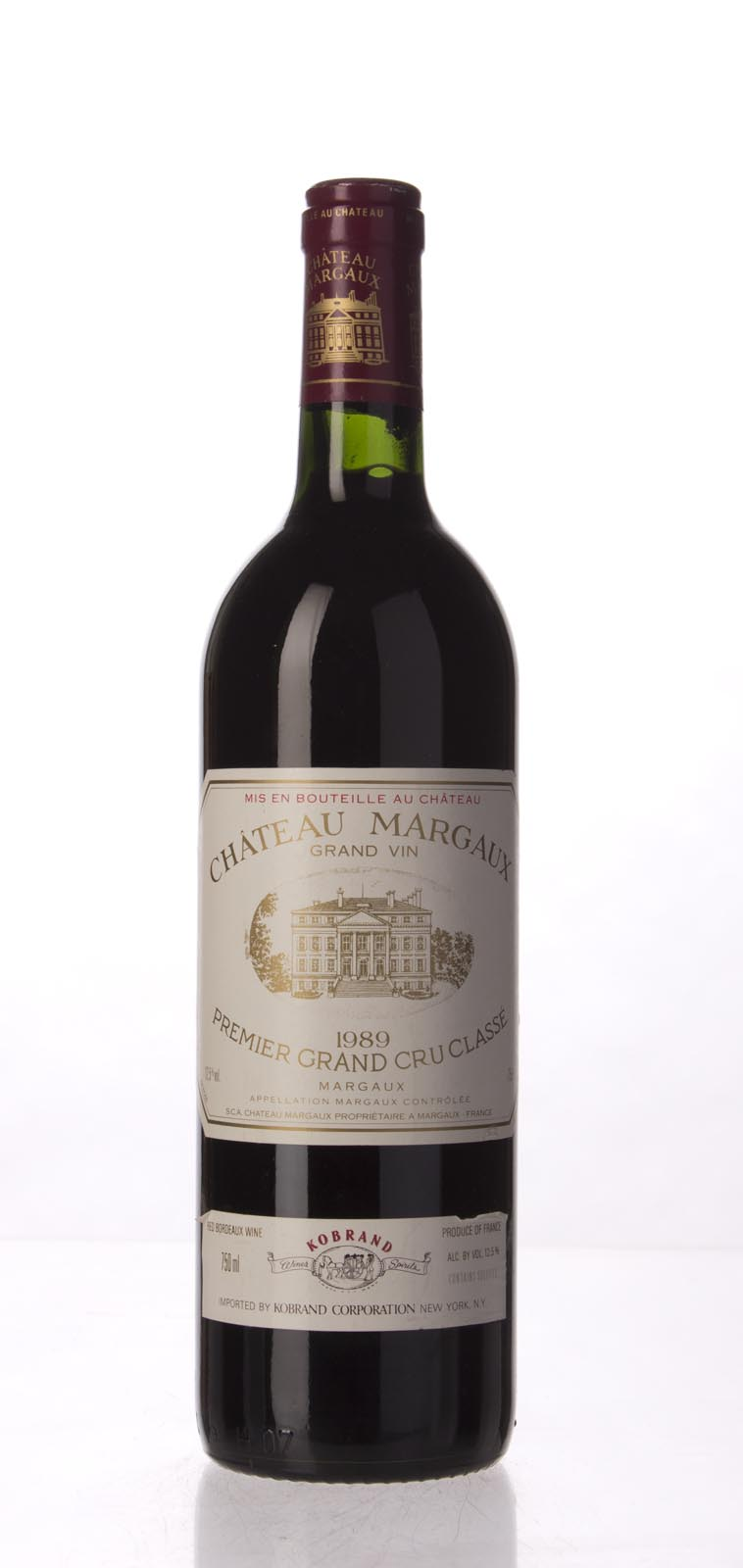 Chateau Margaux 1989, 750mL (WS99) from The BPW - Merchants of rare and fine wines.