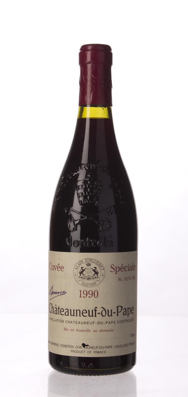 Henri Bonneau Chateauneuf du Pape Cuvee Speciale 1990, 750mL (WA96) from The BPW - Merchants of rare and fine wines.