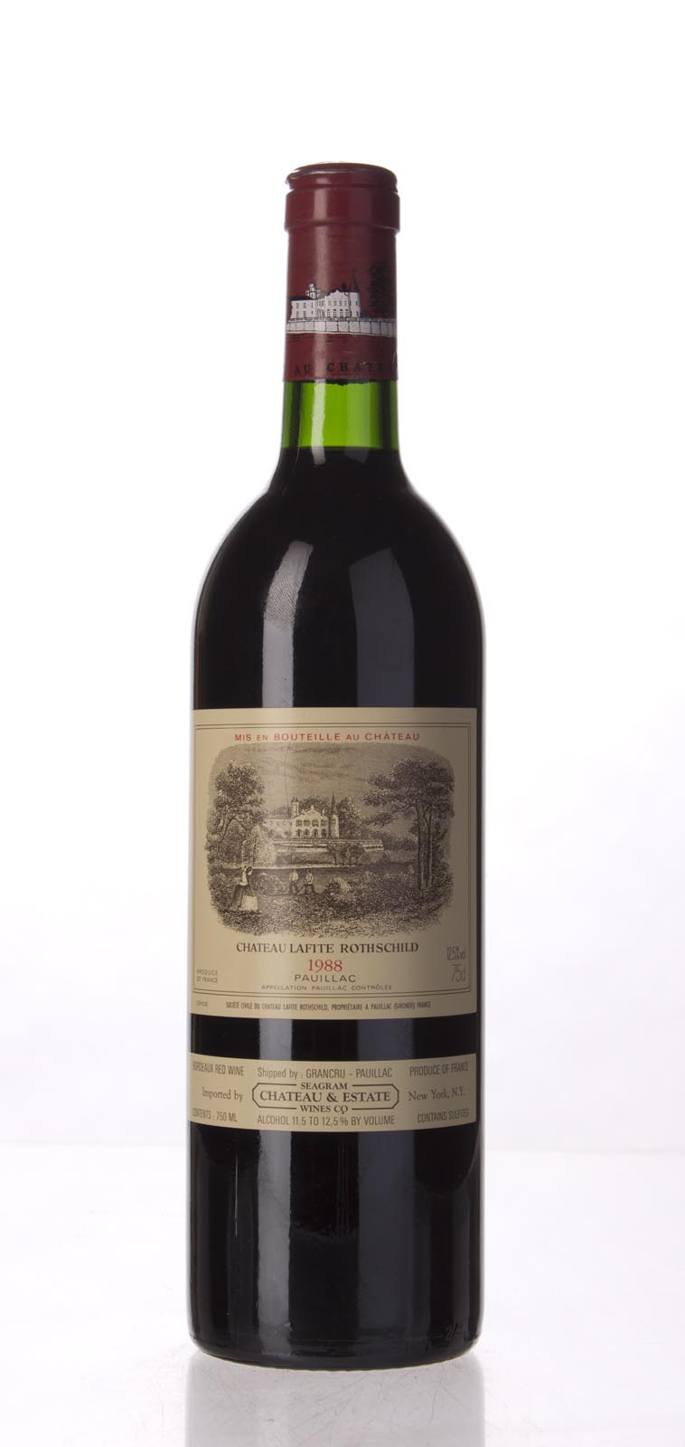 Lafite Rothschild 1988, 750mL (WA94, WS94) from The BPW - Merchants of rare and fine wines.
