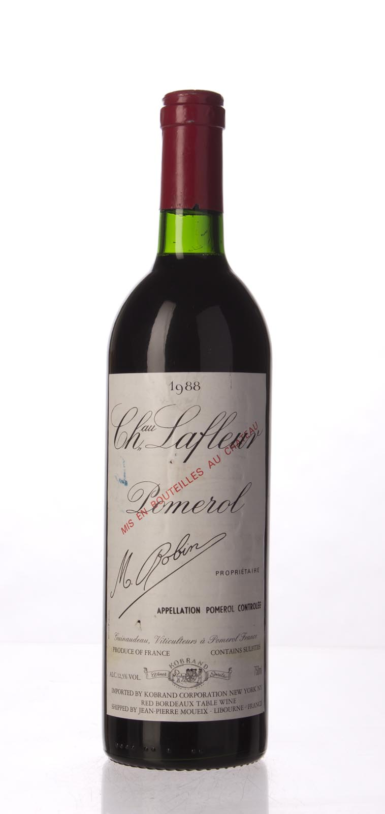 Lafleur 1988, 750mL (WS98) from The BPW - Merchants of rare and fine wines.