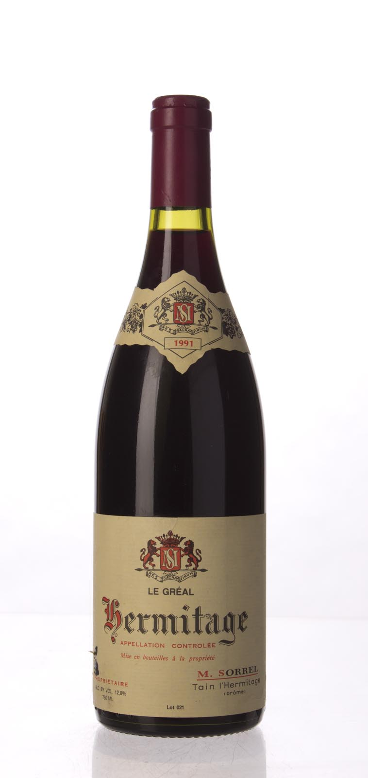 M. Sorrel Hermitage le Greal 1991, 750mL (WA93) from The BPW - Merchants of rare and fine wines.