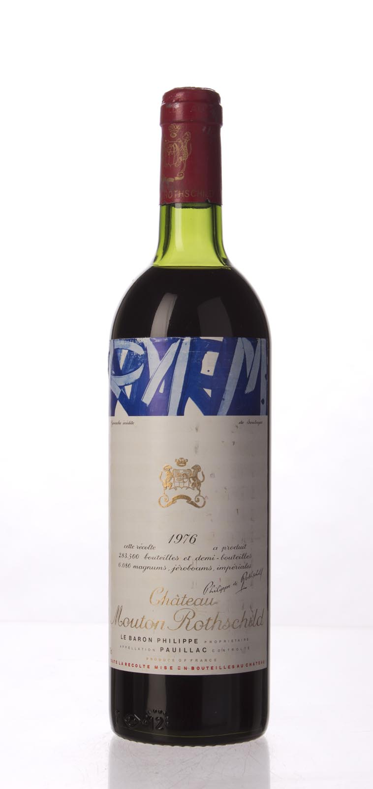 Mouton Rothschild 1976, 750mL () from The BPW - Merchants of rare and fine wines.
