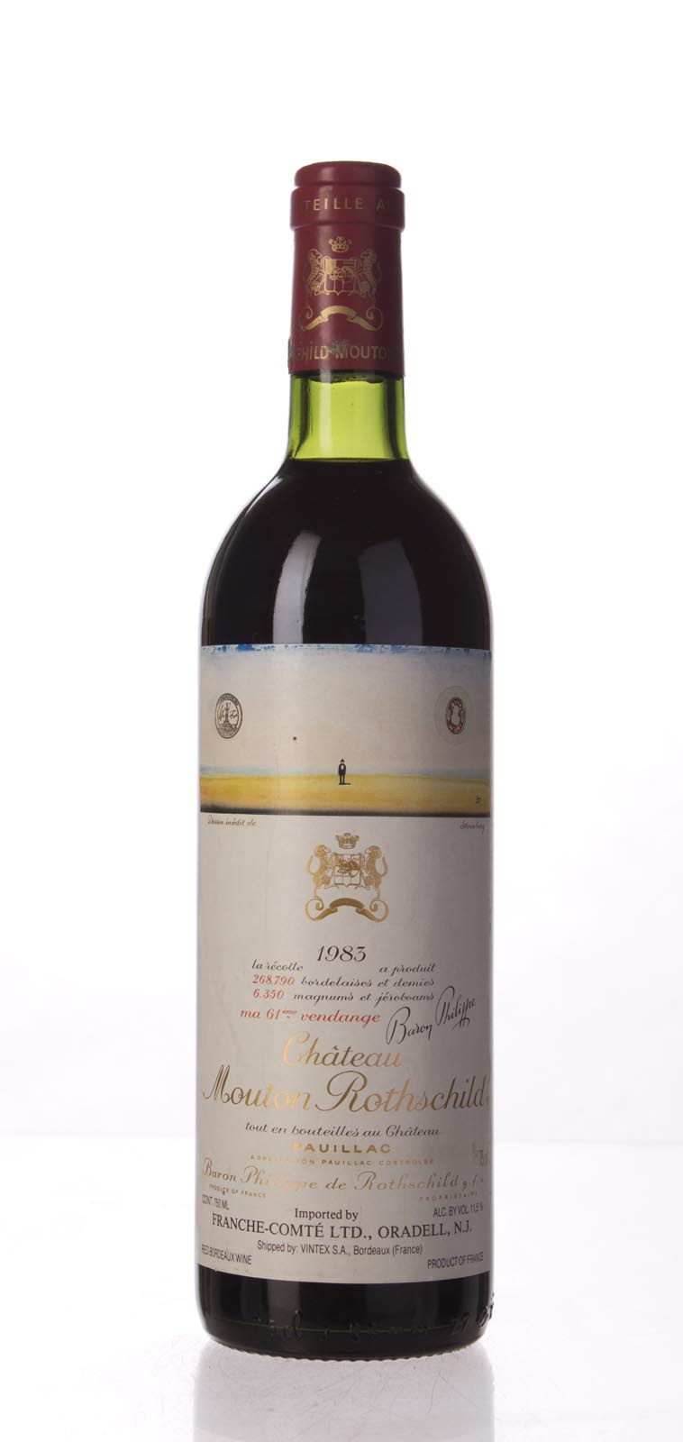 Mouton Rothschild 1983, 750mL (WS96) from The BPW - Merchants of rare and fine wines.