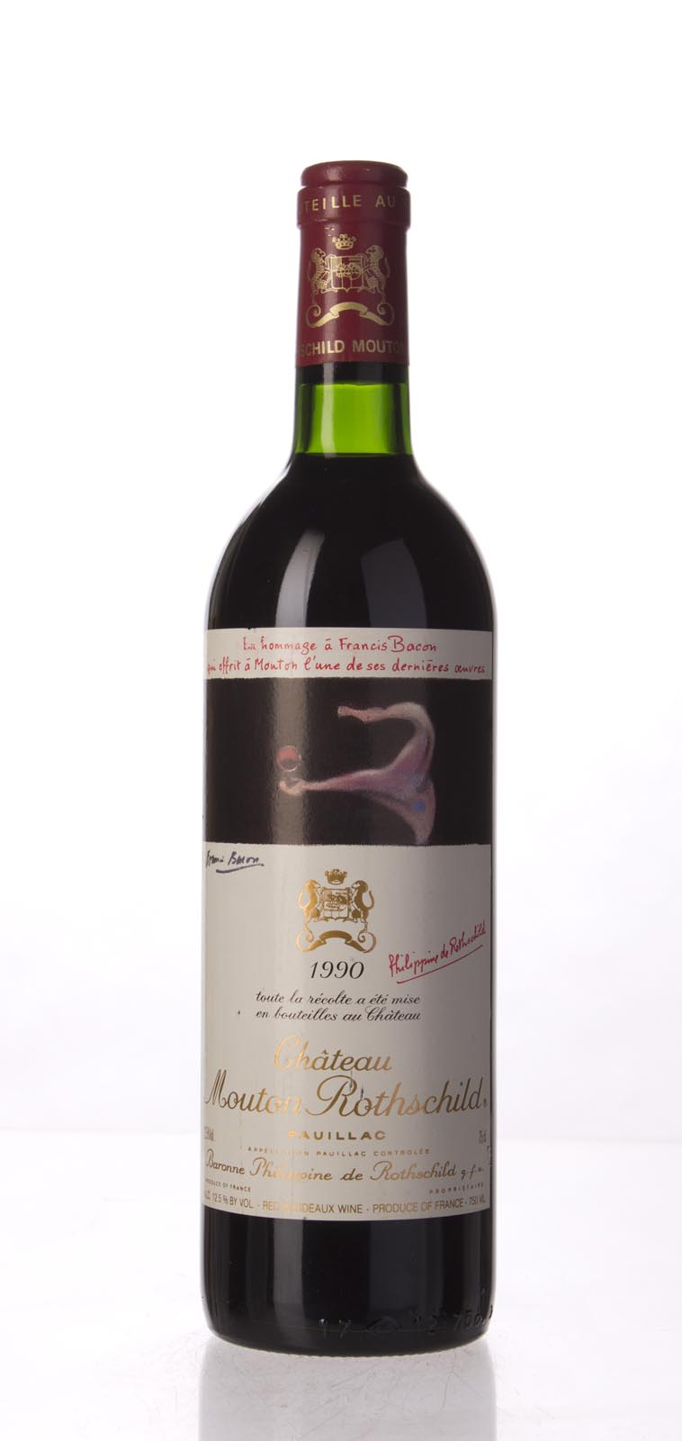 Mouton Rothschild 1990, 750mL (WS97) from The BPW - Merchants of rare and fine wines.