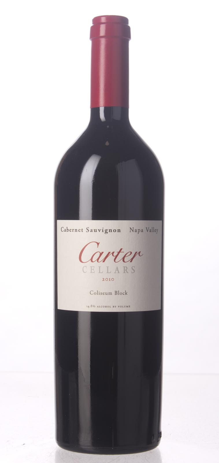 Carter Cabernet Sauvignon Coliseum Block 2010, 750mL (WA94, ST92+, WS94) from The BPW - Merchants of rare and fine wines.