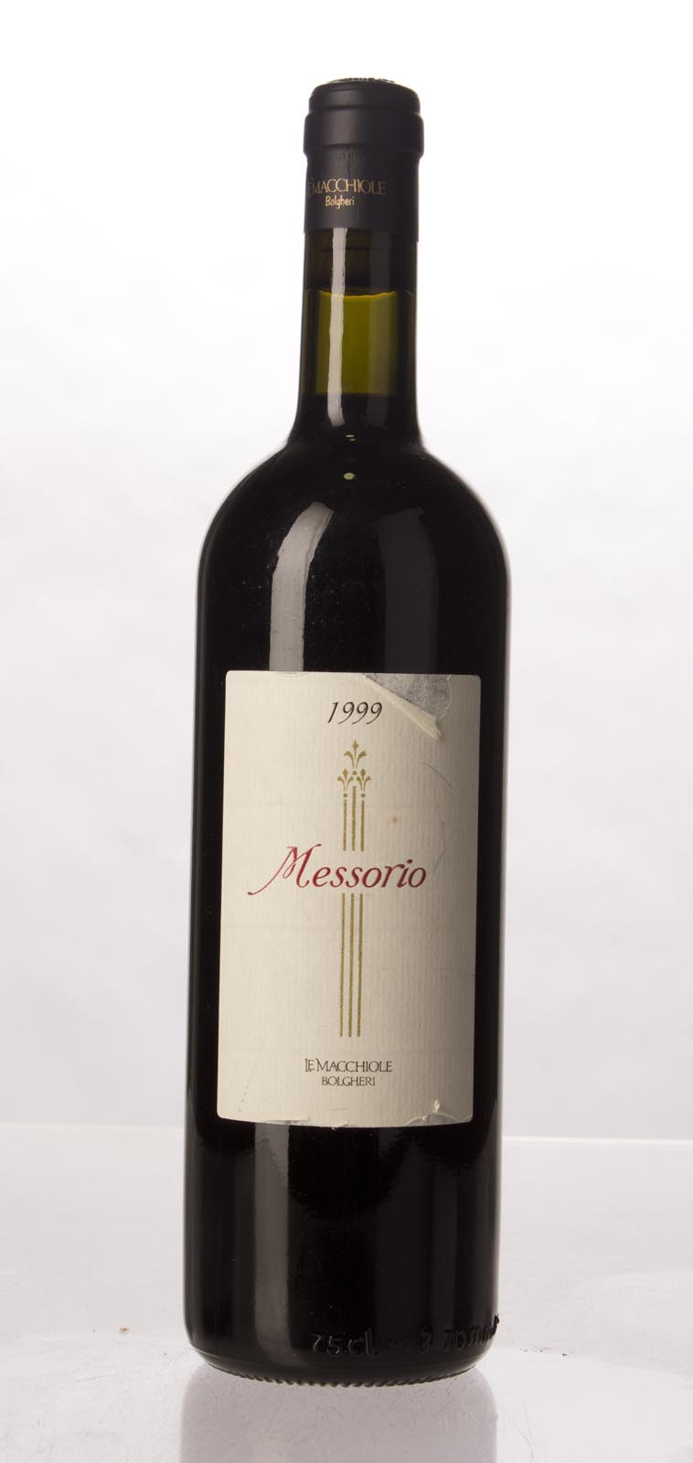 Le Macchiole Messorio 1999,  (WA98) from The BPW - Merchants of rare and fine wines.