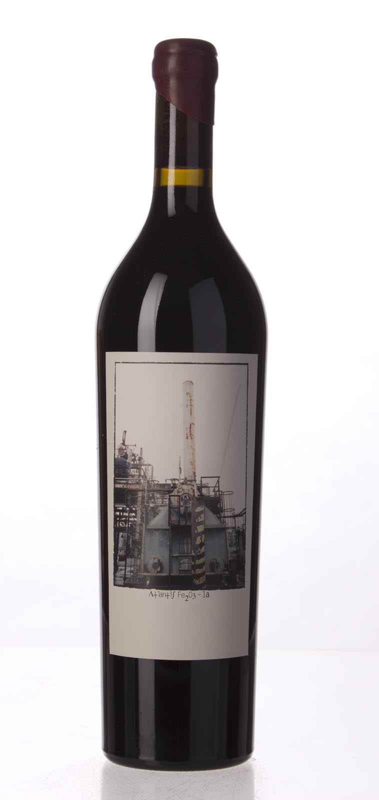 Sine Qua Non Syrah Atlantis Fe2O3 1a 2005, 750mL (WA100) from The BPW - Merchants of rare and fine wines.