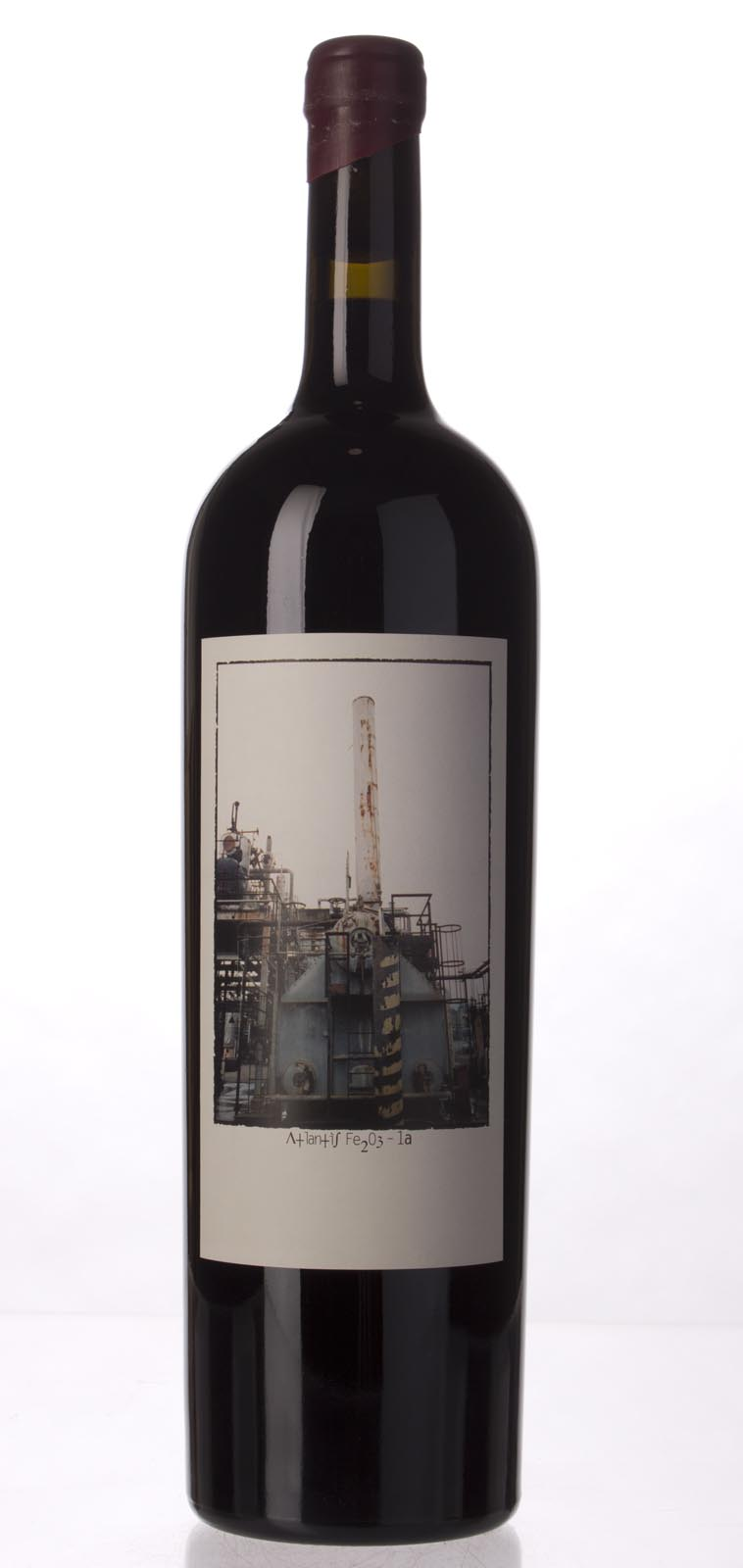 Sine Qua Non Syrah Atlantis Fe2O3 1a 2005, 1.5L (WA100) from The BPW - Merchants of rare and fine wines.