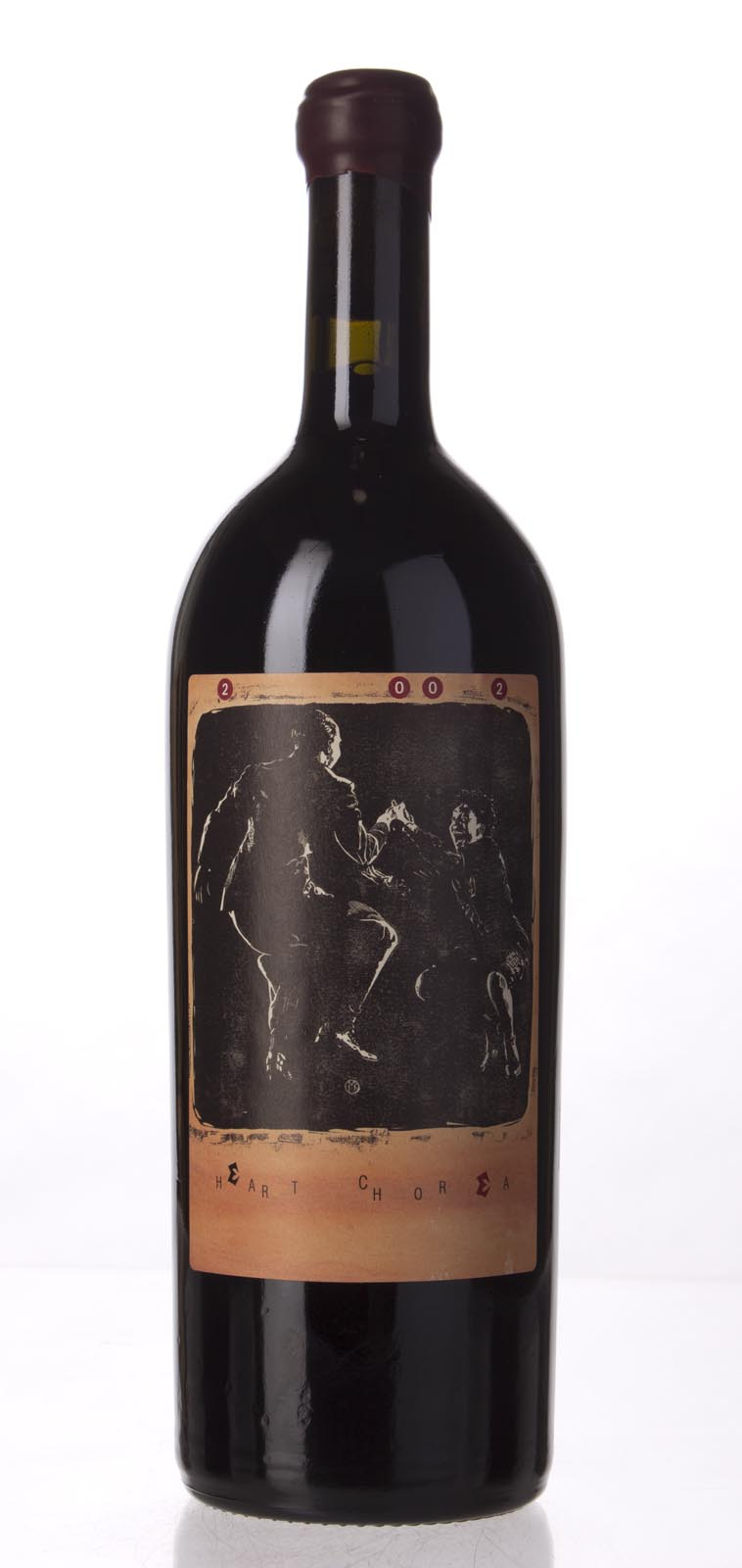 Sine Qua Non Syrah Heart Chorea 2002, 750mL (WA99) from The BPW - Merchants of rare and fine wines.
