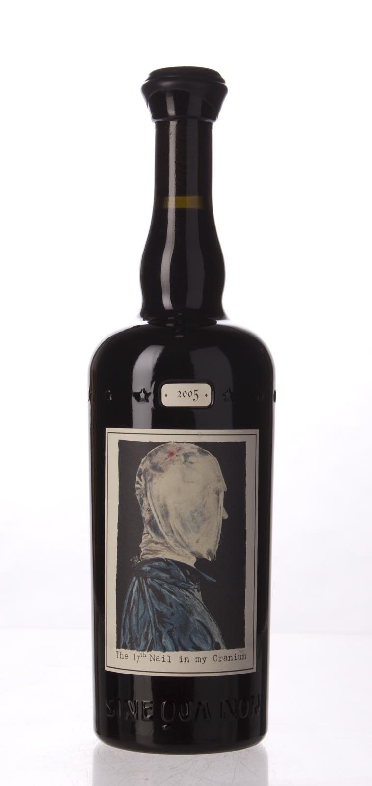 Sine Qua Non Syrah Nail In My Cranium Eleven Confessions Vineyard 2005, 750mL (WA100, ST97, WS98) from The BPW - Merchants of rare and fine wines.