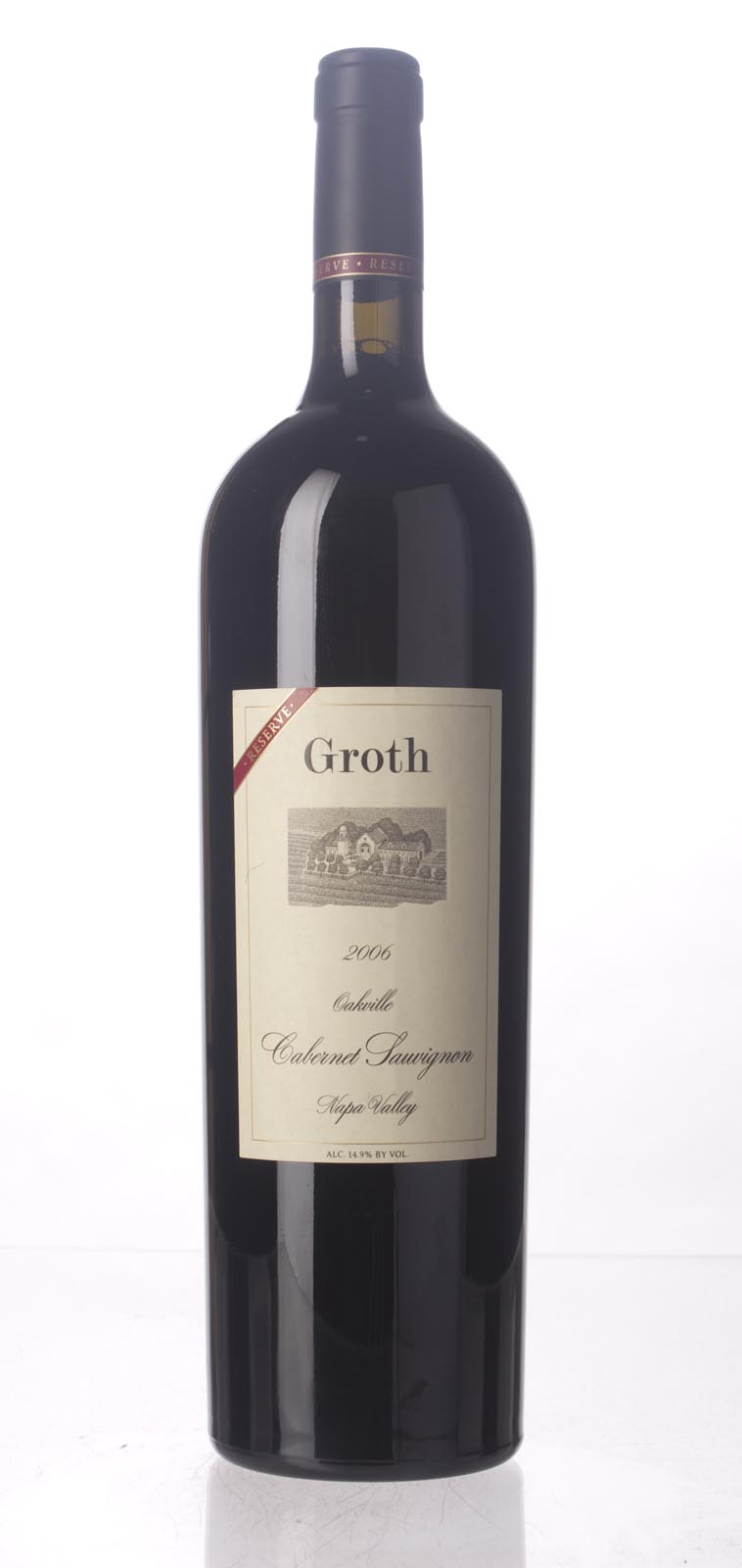 Groth Vineyards Cabernet Sauvignon Reserve 2006, 1.5L (WS95) from The BPW - Merchants of rare and fine wines.
