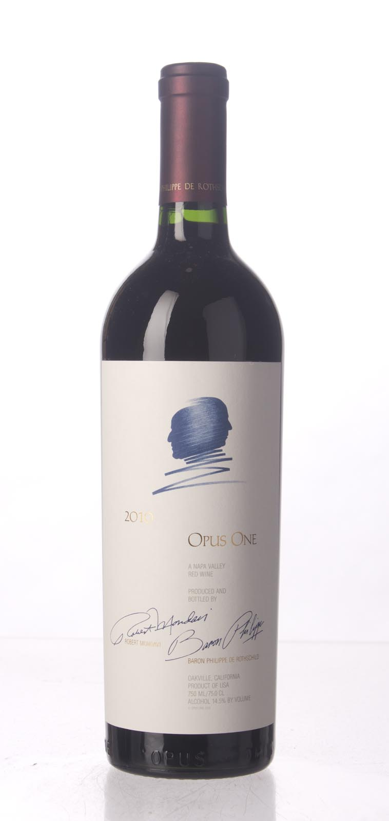 Opus One Proprietary Red Wine 2010, 750mL (AG97, WA96, ST95) from The BPW - Merchants of rare and fine wines.