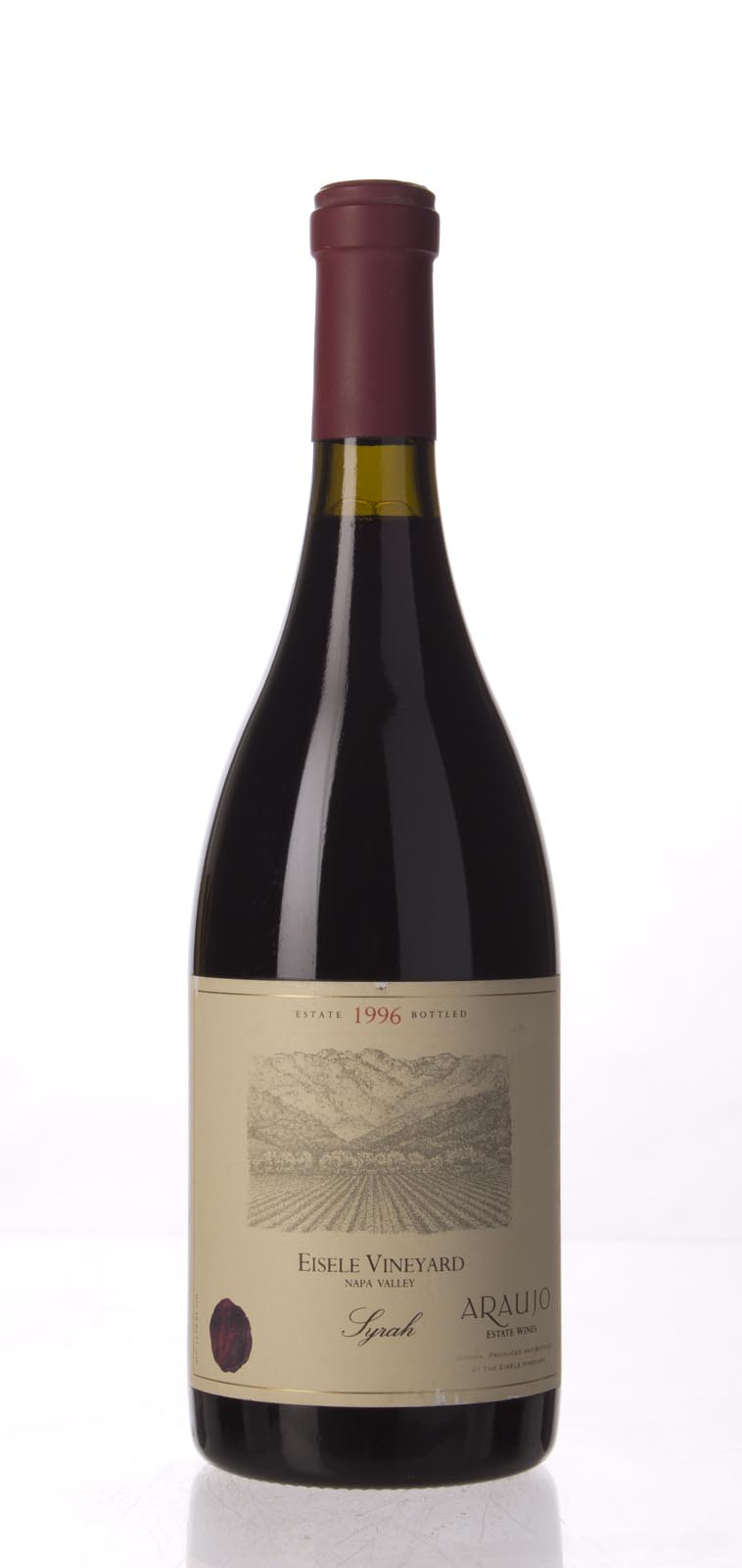 Araujo Estate Syrah Eisele Vineyard 1996, 750mL (WA92) from The BPW - Merchants of rare and fine wines.