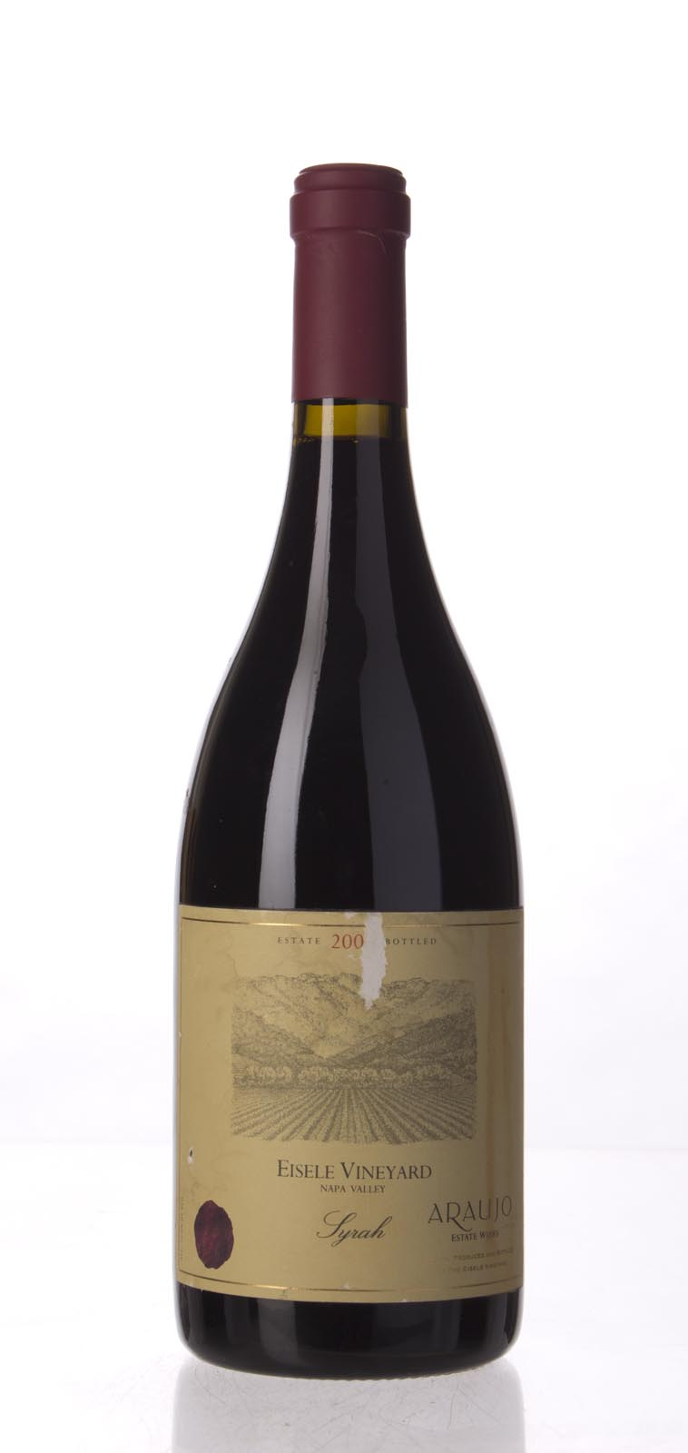 Araujo Estate Syrah Eisele Vineyard 2003, 750mL (WA94) from The BPW - Merchants of rare and fine wines.