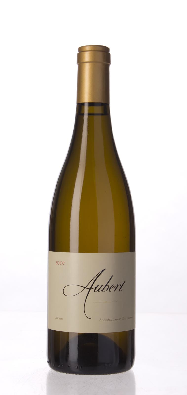 Aubert Chardonnay Lauren Vineyard 2007, 750mL (WA98) from The BPW - Merchants of rare and fine wines.