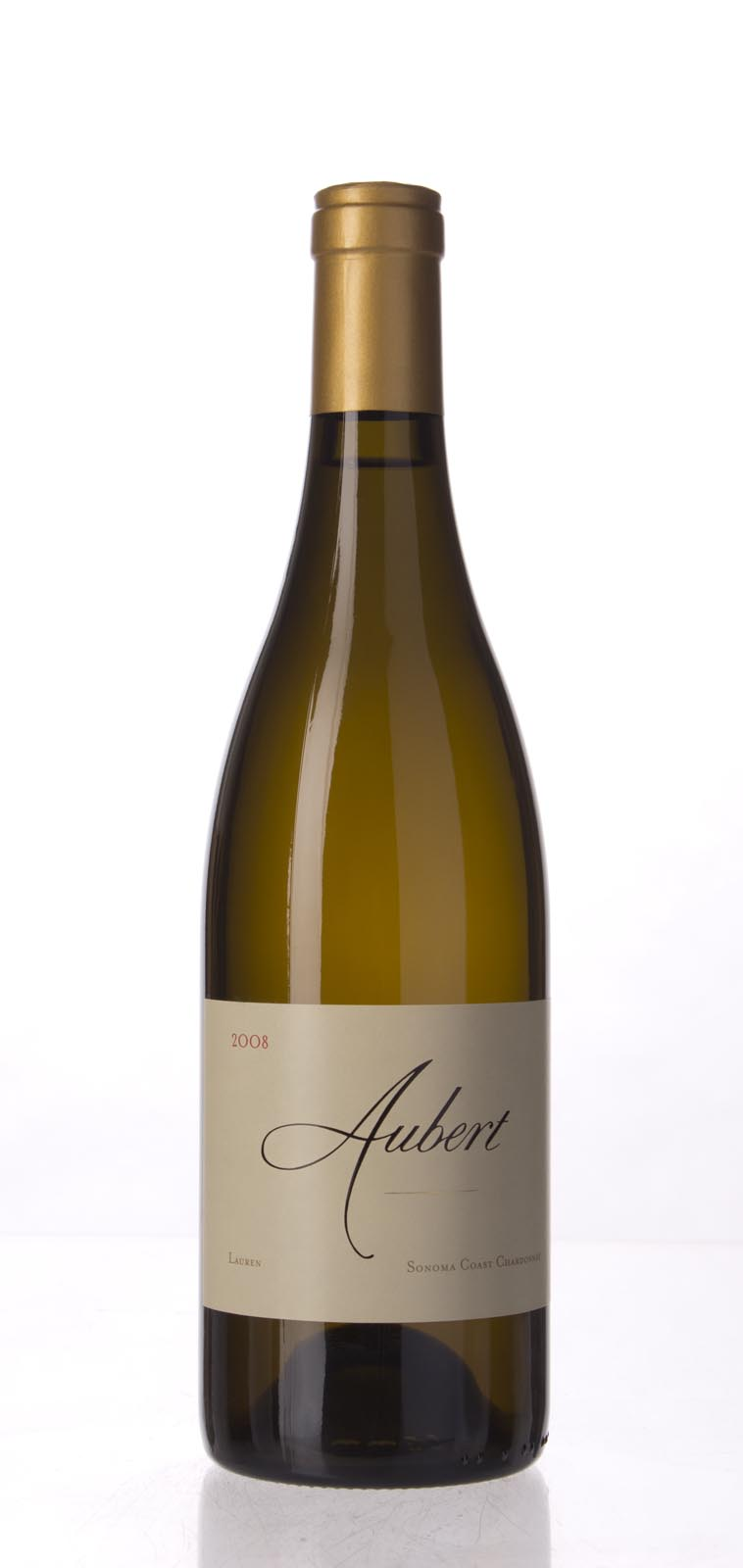 Aubert Chardonnay Lauren Vineyard 2008, 750mL (WA97, ST95) from The BPW - Merchants of rare and fine wines.