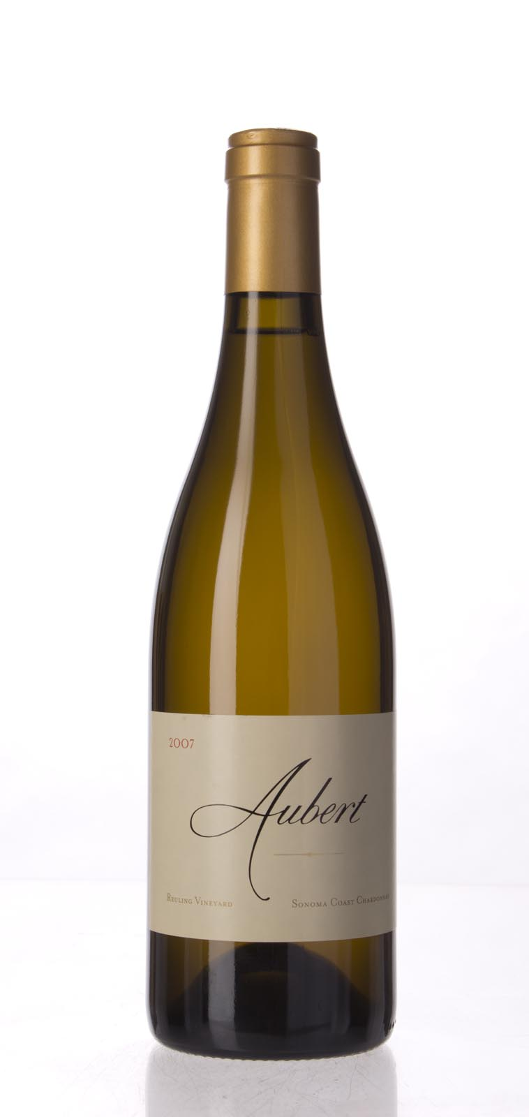 Aubert Chardonnay Reuling Vineyard 2007, 750mL (WA98) from The BPW - Merchants of rare and fine wines.