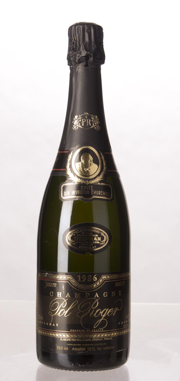 Pol Roger Cuvee Winston Churchill 1986, 750mL () from The BPW - Merchants of rare and fine wines.