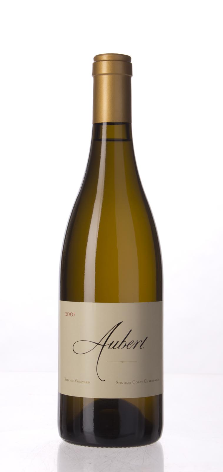 Aubert Chardonnay Ritchie Vineyard 2007, 750mL (WA97) from The BPW - Merchants of rare and fine wines.