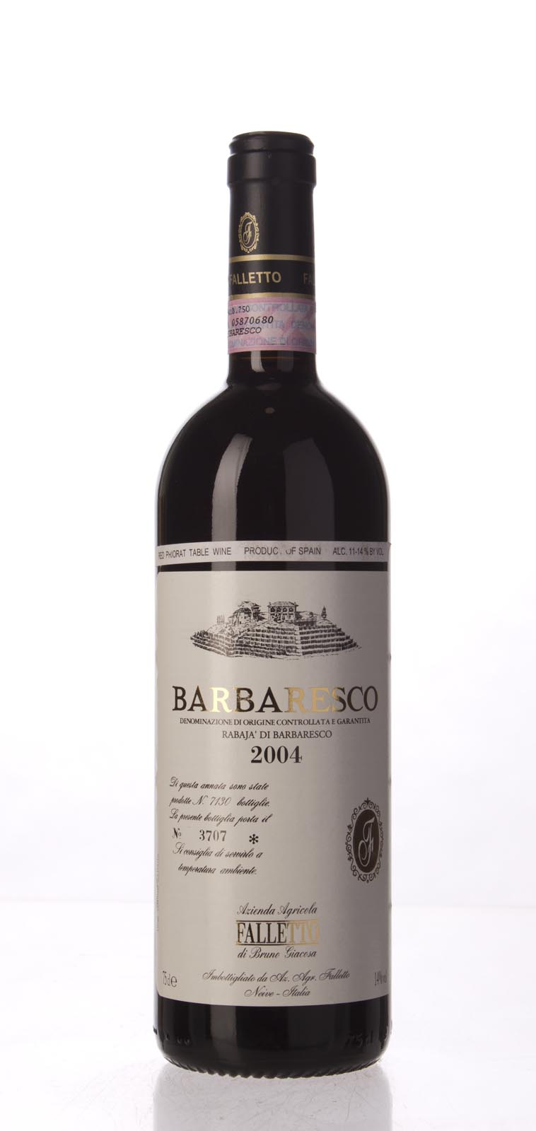 Bruno Giacosa Barbaresco Rabaja 2004, 750mL (WA97) from The BPW - Merchants of rare and fine wines.