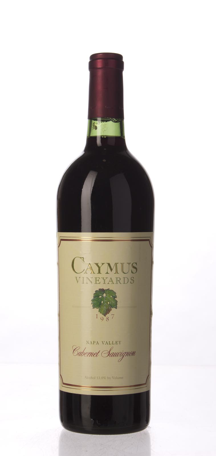 Caymus Cabernet Sauvignon Napa Valley 1987, 750mL (WA90, WS93) from The BPW - Merchants of rare and fine wines.